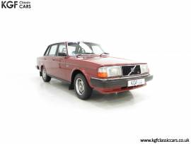 An Incredible Volvo 244GL in Pampered Original Con, Redwood Metallic, £ 7,995