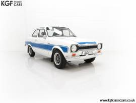 A First Month Production Mk1 Ford Escort RS2000, Diamond White, £ 57,395