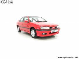 A Red Hot Nissan Primera SRi P10 with 22,728 Miles, Flame Red, £ 6,995