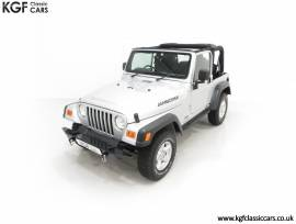 Possibly the Best Jeep Wrangler TJ Jamboree, Bright Silver, £ 21,995