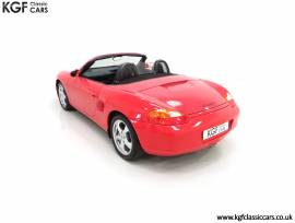 A Stunning Porsche Boxster 986 with Only 30,968 Mi, Guards Red, £ 12,495