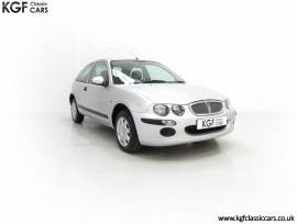 A Time Warp Rover 25iL 1.4 16v With 5,557 Miles, Starlight Silver, £ 3,995