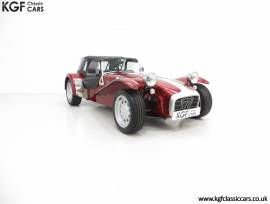 A Rare Caterham Seven 40th Anniversary Edition, Ruby Pearlescent, £ 17,995