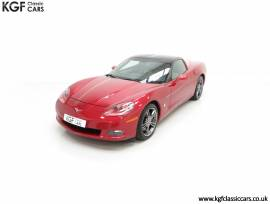 A Top Specification Chevrolet Corvette C6 4LT , Crystal Red, £ 29,995