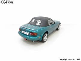 One of 400 an as New Final Edition Mk1 Mazda MX-5 , Sparkle Green, £ 21,795