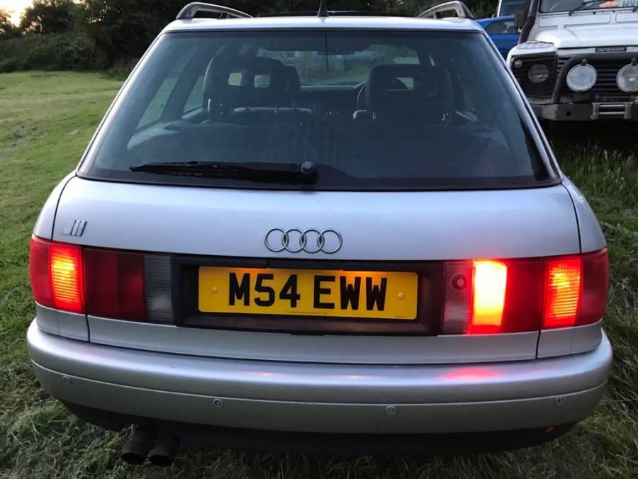 Audi S2 Avant 2.2 4wd, Silver