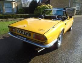 1973 Triumph Spitfire  1300 O/Drive , Yellow, £ 6,995
