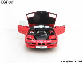 A Pristine E31 BMW 840Ci with Only 28,783 Miles, Bright Red, £ 29,995
