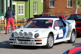 SOLD!!! : FORD RS200 Group B Car - Road, Coupe