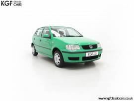 A Vivid Volkswagen Polo 1.4 E with 13,462 Miles, Evergreen, £ 3,695