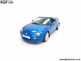 An Astonishing Limited Edition MGF Trophy 160 SE, Trophy Blue, £ 12,995