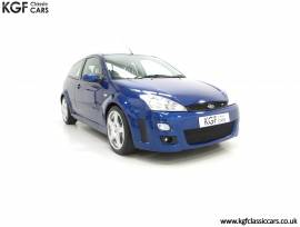 An Outstanding Ford Focus RS Mk1, Imperial Blue, £ 27,295