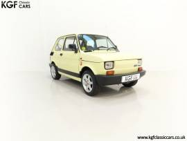 A Cheeky UK RHD Fiat 126 Bis with 23,138 Miles, Ivory Meteor, £ 5,495
