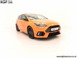 One of Fifty Ford Focus RS Heritage Editions, Tief Orange, £ 64,995