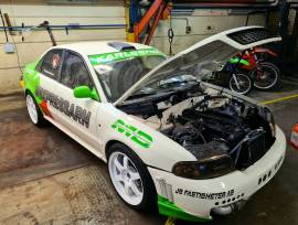 """Audi A4 2.5L S2 Egine 800hp, Audi A4 with s2 drivetrain<br /><br />-2.5L<br />-H-profil rods <br />-ACL race bearings<br />-RS2 metal head gasket<br />-Ported cylinderhead<br />-Other cams fully adjustable<br />-INA retainers <br />-Ferrea valves<br />-CP service race springs<br />-CP service exhaust manifold<br />-Precision 6466 BB with 4"""" downpipe<br />-Tial wastegate<br />-4"""" Intercooler<br />-Accusump with electric switch<br />-Methanol injection<br />-VEMS ecu with tablet<br />-Sinter clutch with<br />-Electric powersteering<br />-6 speed 01e gearbox with Coolerworx shifter<br />-Fixit driveshafts<br />-Sellholm antirollbars<br />-KW v3 coilovers<br />-Lock front and rear diffs<br />-Hydraulic handbrake<br />-Griffin watercooler in the back of the car<br />-Rollcage<br />-Lexan windows<br />-New seats and belts<br />-JR wheels or Team Dynamics<br />-Mapped on E85 <br />-800bhp<br /><br />Car works really fine, perfect for trackdays, hillclimb, timeattack, drifting <br /><br /><br /><br />Ask for price and more info<br /><br />Tel +460761690770<br />Expressarn@gmail.com <br /><br />, 5, Sedan, 2018, 4WD, Manual, 4, Sweden, Kalmar"""