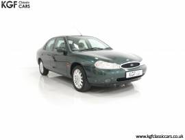 A Luxurious Ford Mondeo Ghia X with Only 20,305 Mi, Charcoal Green Pearl, £ 4,495